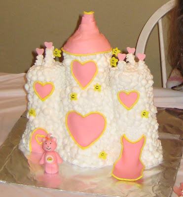 Care Bear Cloud Castle Cake 2