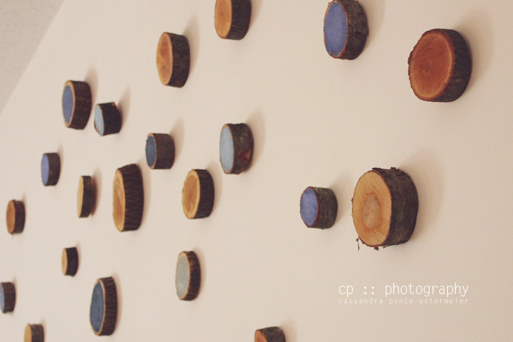 Sassafras wood circle wall decor diy