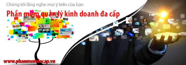 Website phần mềm quản lý kinh doanh đa cấp chuyên nghiệp nhất Việt Nam