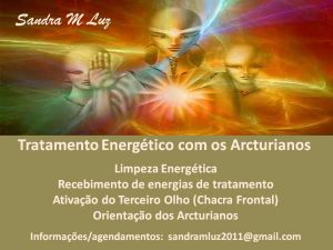TRATAMENTO ENERGÉTICO COM OS ARCTURIANOS