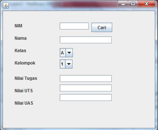 Database sistem perdagangan