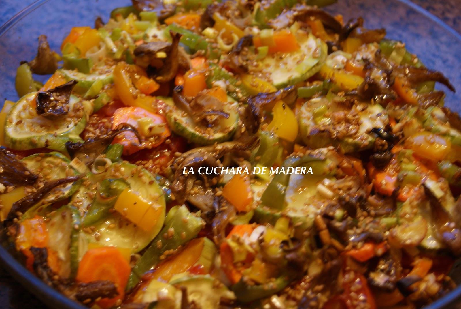 La cuchara de madera verduras al horno - Salsa para verduras al horno ...