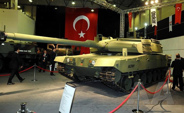 Altay Turkey Main Battle Tank