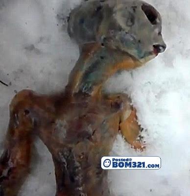 Gambar Makhluk Asing Yang Ditemui Di Rusia