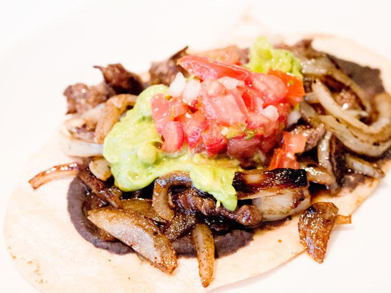 Huaraches Con Carne