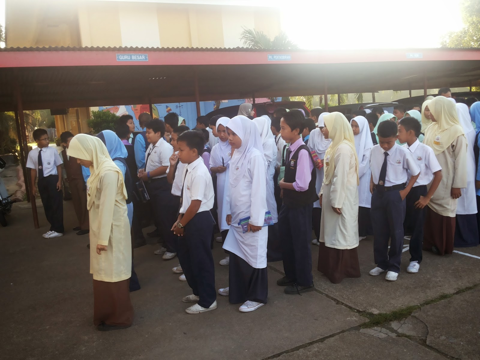 UPSR 2014 Hari Pertama