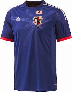 Le maillot du Japon de la Coupe du monde 2014