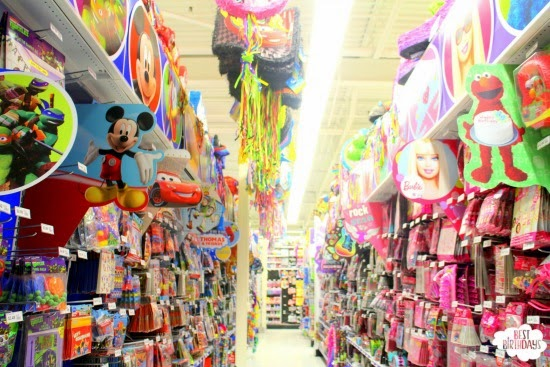5 Tips for Shopping at Party City  |  Best Birthdays