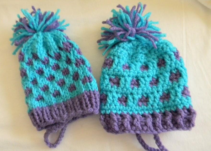 Bizzy Crochet: Mini-Hat #4 - Decoration/Gift Bag Knit Pattern