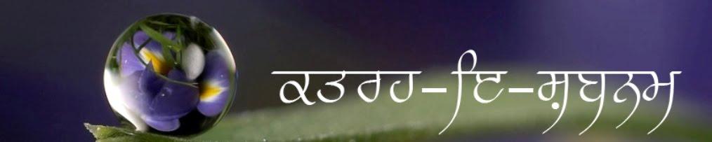 ਪ੍ਰਭਸ਼ਰਨਬੀਰ ਸਿੰਘ/Prabhsharanbir Singh