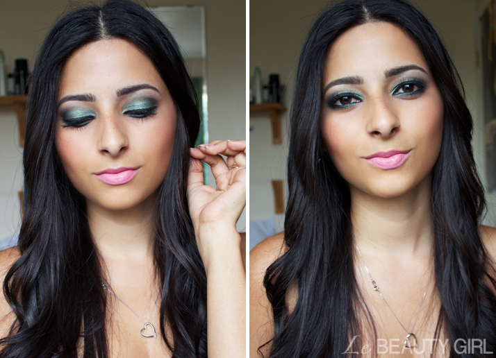Green Makeup For Brown Eyes Tutorial