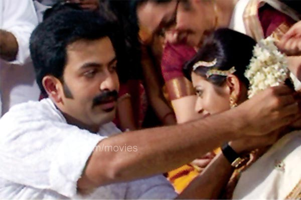 Prithviraj and Supriya Menon wedding photos gallery