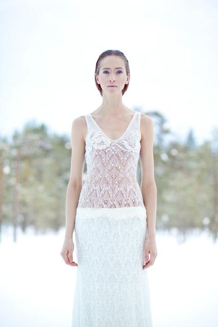 knitting maxi lace dress