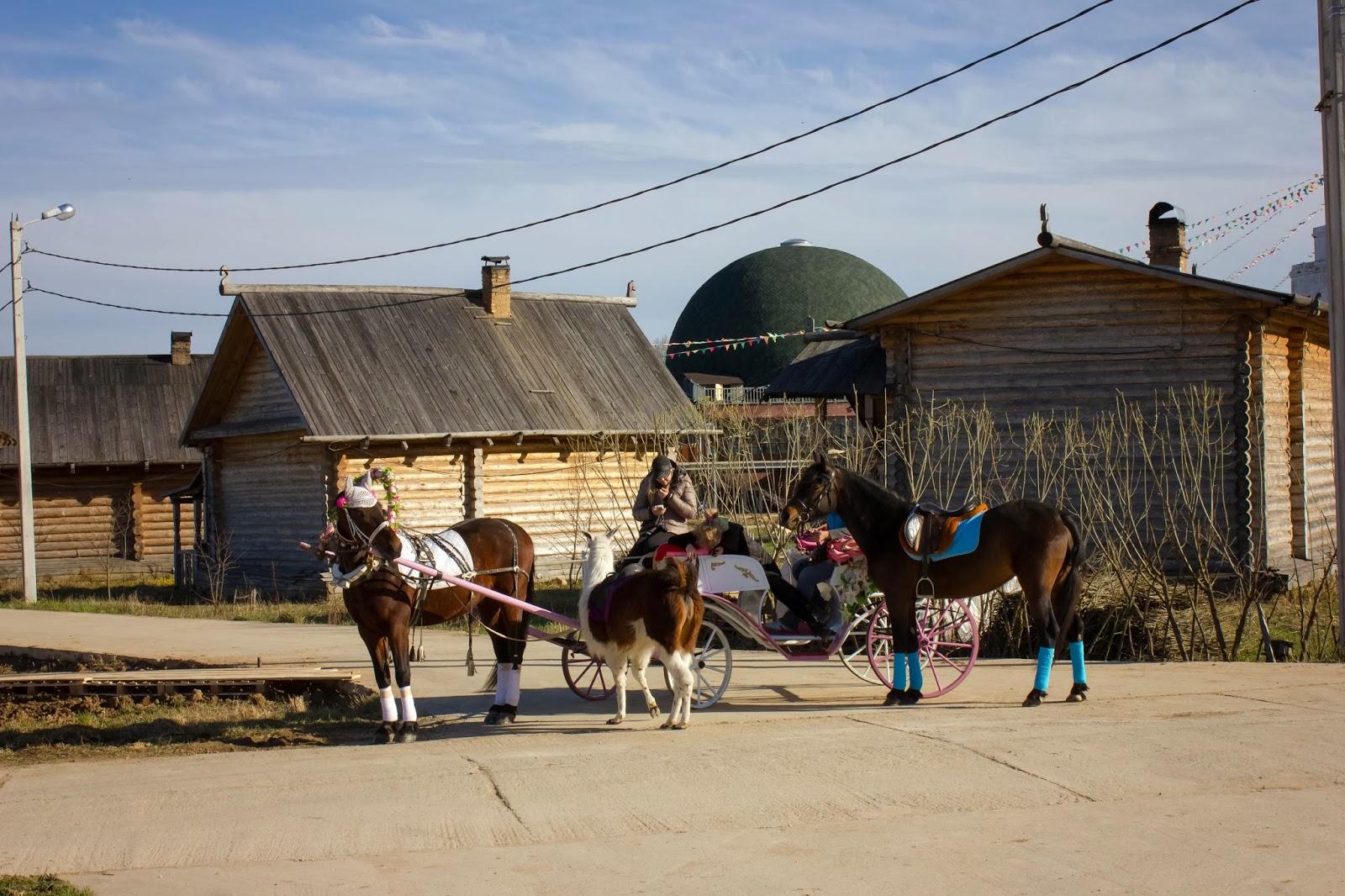 Калуга, Калужская область, Этномир, Прокачу с ветерком