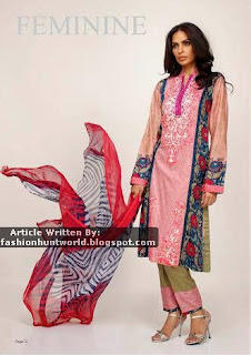 Feminine Designer Embroidered Eid Collection 2015 By Shariq Textile