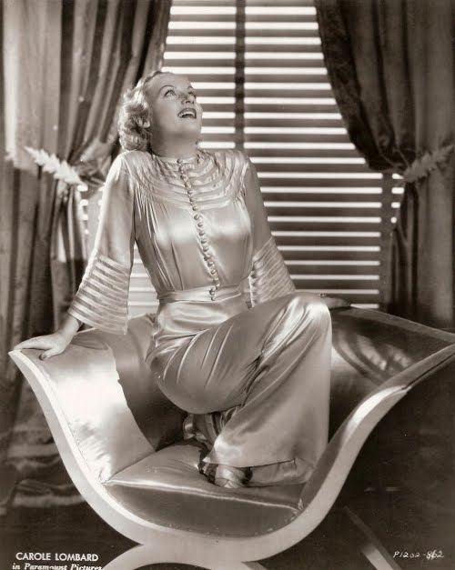 carolelombard pajamas She Sick Like Dat  How to be Glamorous Sick
