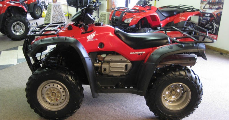 Atv Factory Service Repair Manual  2004 2007 Honda Rancher