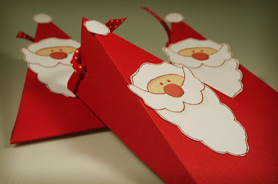 DIY Santa Box with Free Printable.