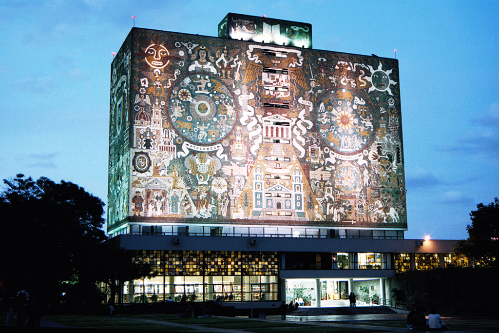 Famous American Architect Part - 41: Filename: 14_UNAM.jpg