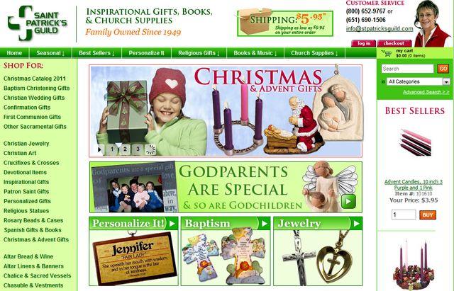 Patron Saint Gifts from StPatricksGuild.com