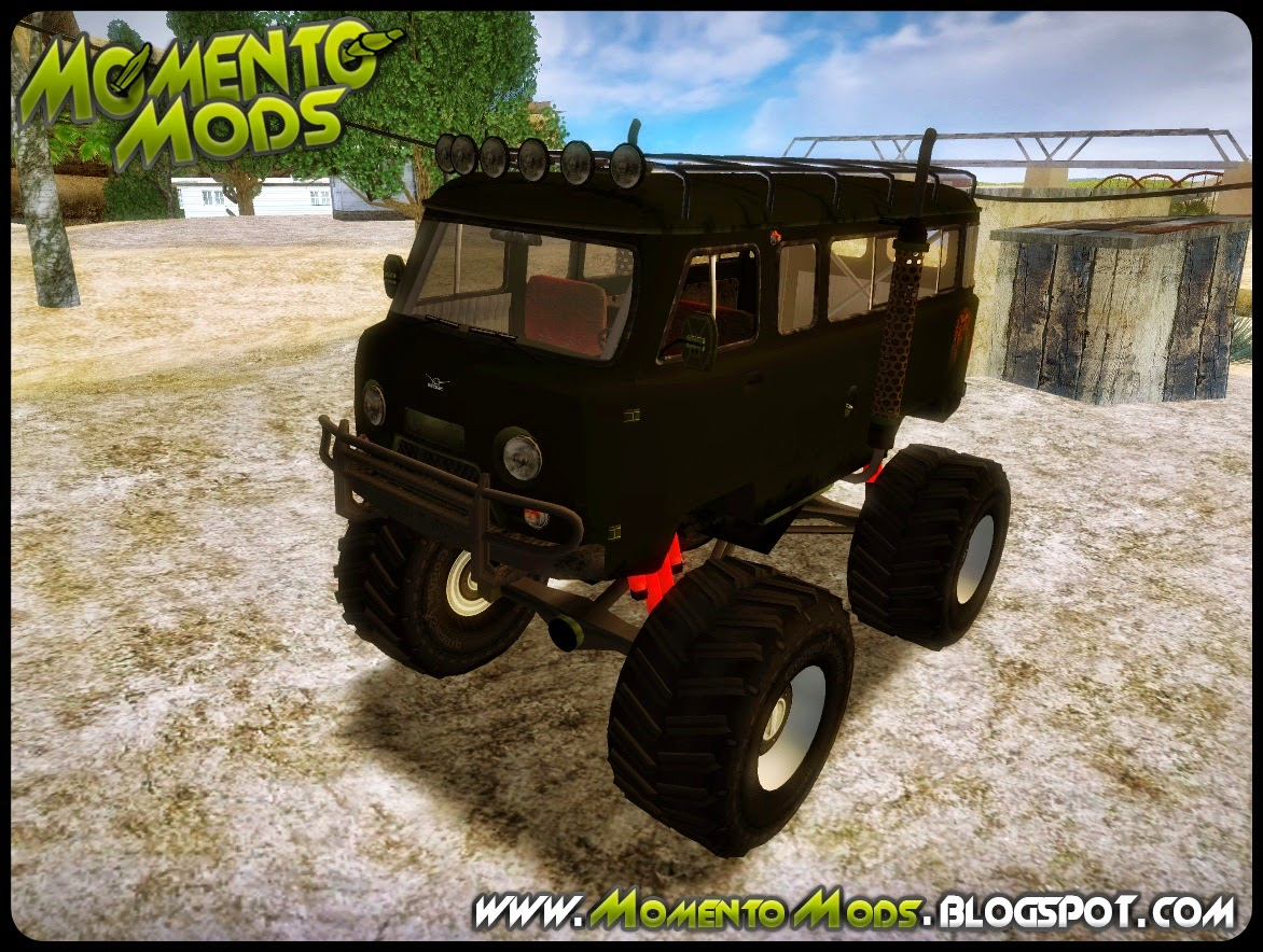 GTA SA - Uaz Monster