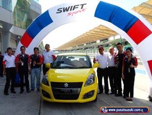 media test drive swift sport sepang malaysia