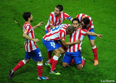 Atlético de Madrid, un co-líder de ultimo minuto