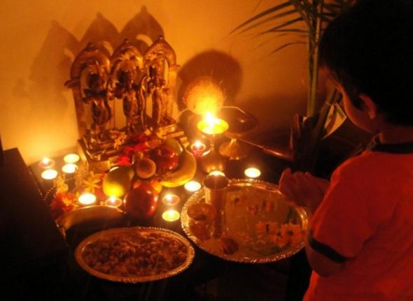 दीपावली त्यौहार की पूजन विधि और महत्तव