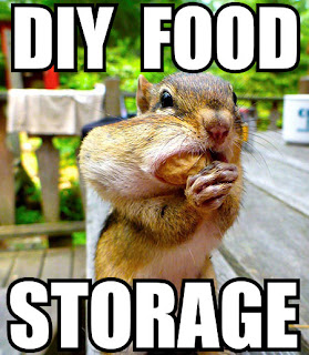 DIY food storage