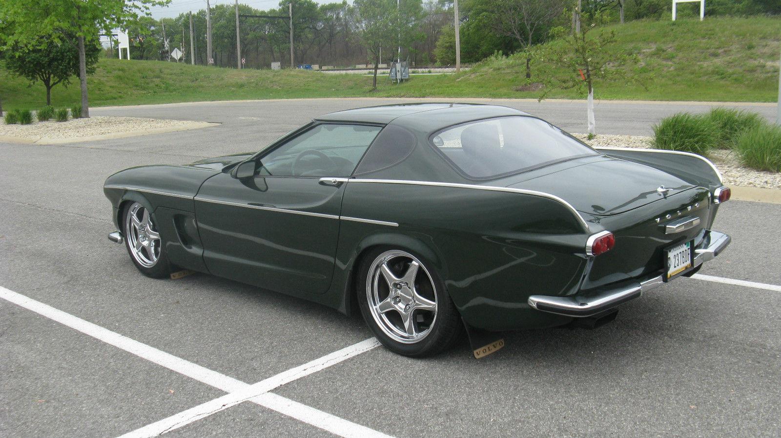 Volvette Is A 1992 Corvette With A 1967 Volvo P1800 Body ...