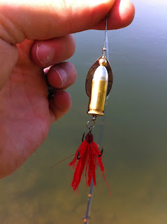 32 Caliber Bullet Fishing Lure