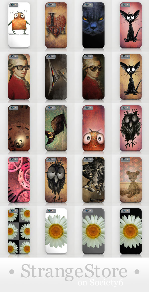 iphone 6 cases, strange store, paul stickland, funny iphone 6 cases, iphone 6 cat, cat iphone 6 cases, owl iphone 6 cases,