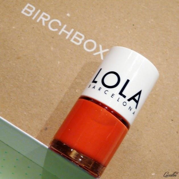 Esmalte Lola Barcelona, tono rambla