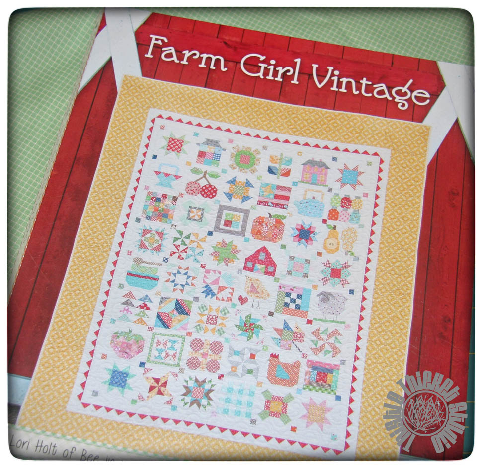 What I Blog About When I Blog About Books Notd Girl On: Quilting With Thistle Thicket Studio: Farm Girl Vintage
