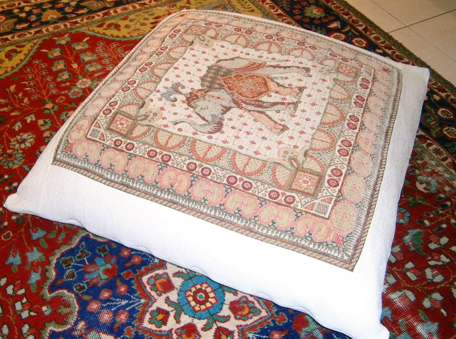 Zip Floor Pillow patches of heaven: how to make a great beanbag floor cushion