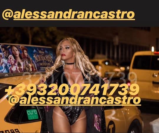 Alessandra Castro Shemale +39 3200741739