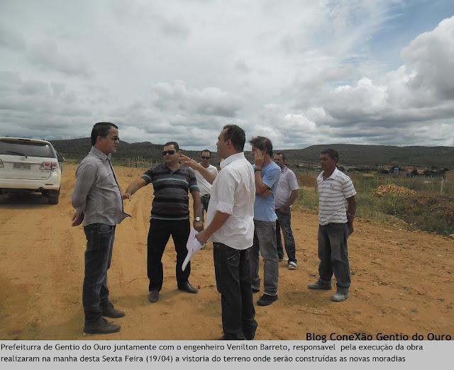 GENTIO DO OURO - PREFEITURA CONSTRUIRÁ 40 CASAS POPULARES NA SEDE DO MUNICÍPIO: