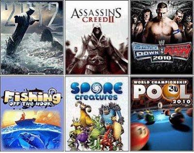 Download Javagames 320x240 HP Cina & Nokia E61, E63, E71, E73