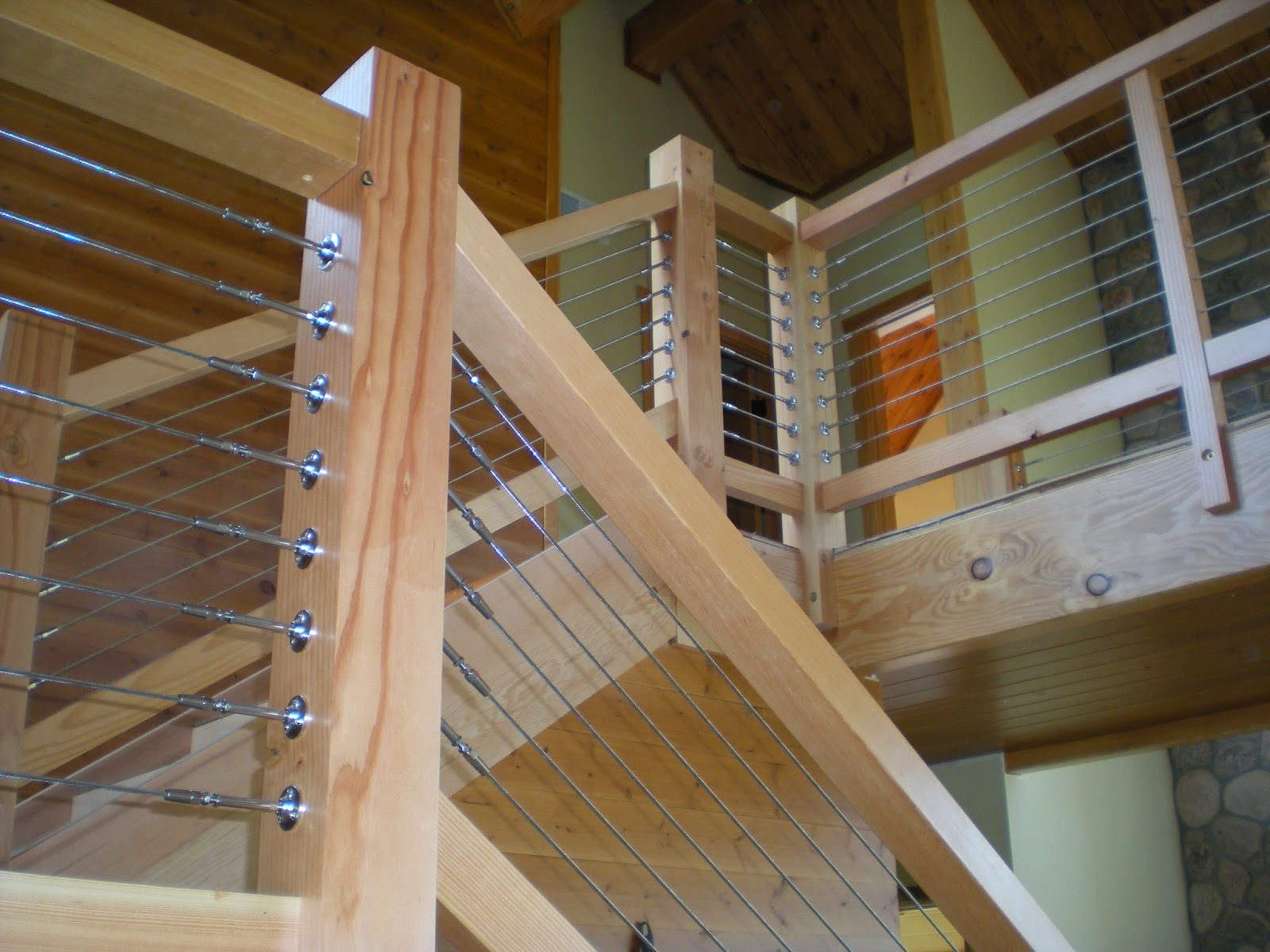 timber, frame, custom, home, lake, Stainless, steel, cable, railing, huisman, concepts, design,
