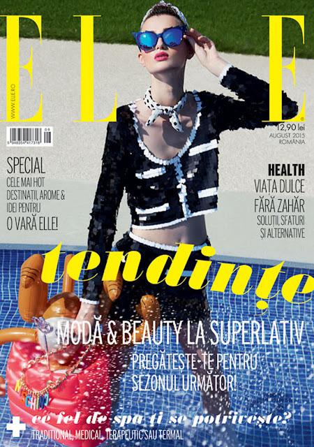 Model @ Georgiana By Dan Beleiu For Elle Romania, August 2015