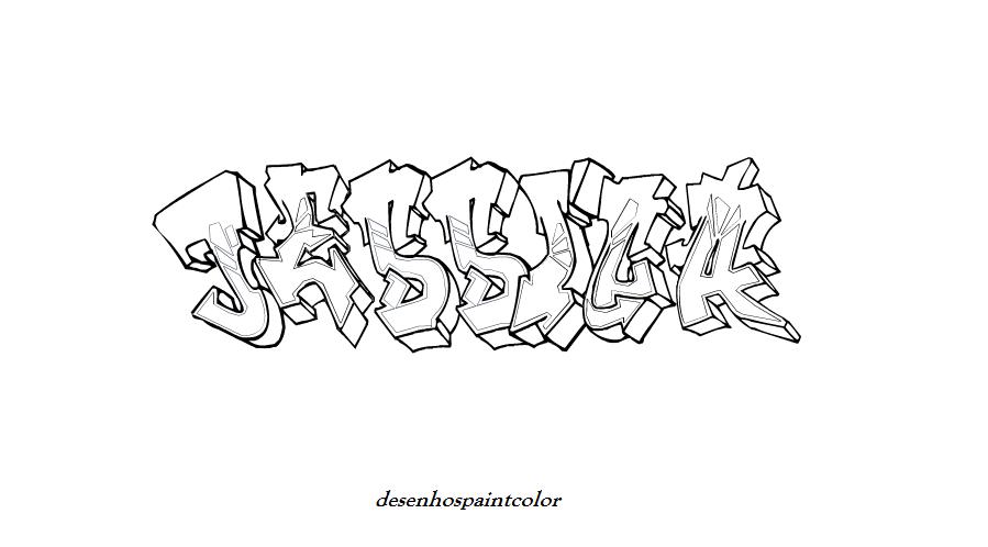 colorindo com a dry desenho de fonte de graffiti com nome jessica