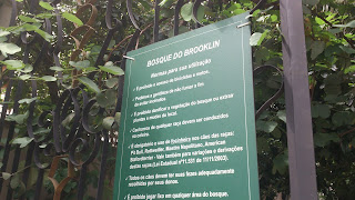 Regras do Bosque do Brooklin