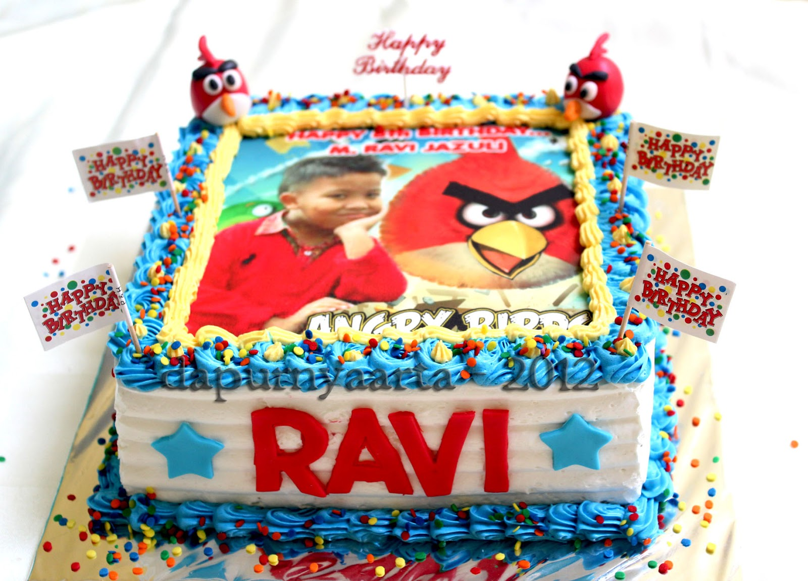 Birthday Cake Image Ravi : Dapurnya Arta: Cake and Cupcakes for Ravi