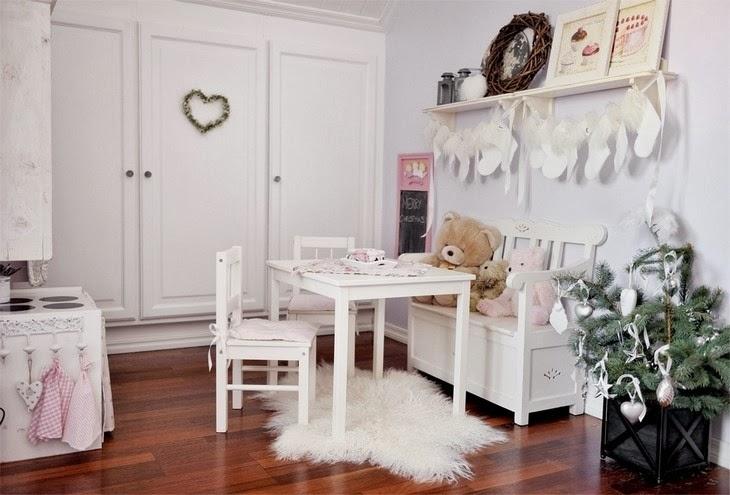 Как украсить комнату в новогоднем стиле своими