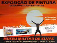 ELVAS: EXPOSIÇÃO DE PINTURA NO MUSEU MILITAR