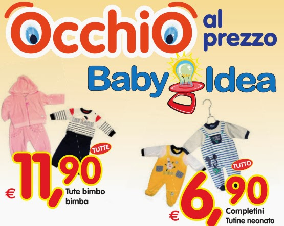 OCCHIO AL PREZZO! ~ IL BLOG DI BABYIDEA