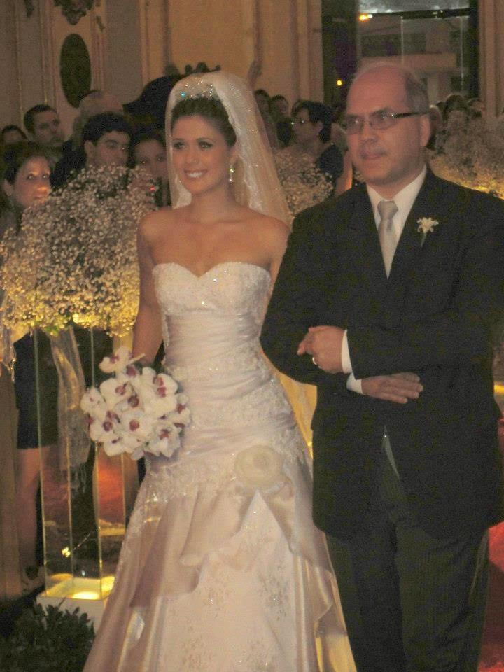 Jesus Calviño y Aline Calviño Tejo.