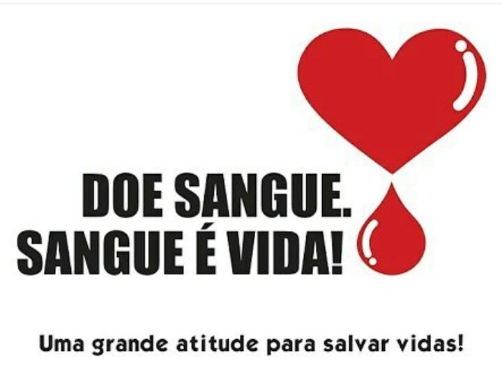 Doe sangue regularmente e ajude a quem precisa!