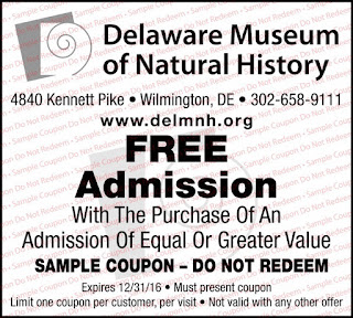 Delaware Natural History Museum Coupon