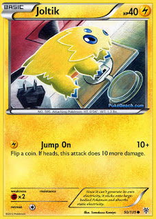Joltik Plasma Storm Pokemon Card